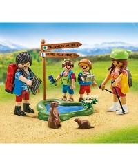 Playmobil 6536. Familia de Excursionistas