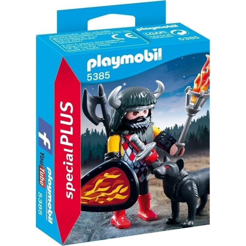 Playmobil 5385. Guerrero Lobo