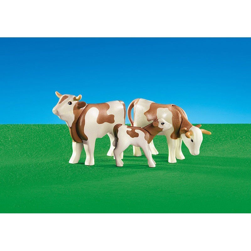 Playmobil 6356. Familia de Vacas
