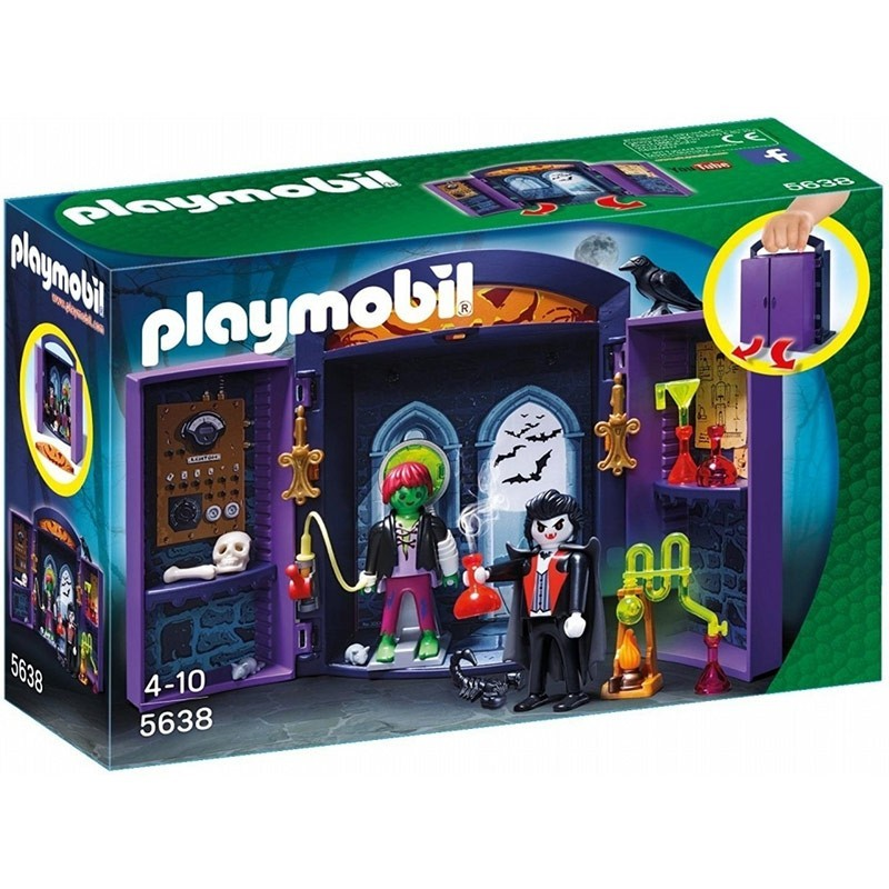 Playmobil 5638. Cofre Casa Encantada
