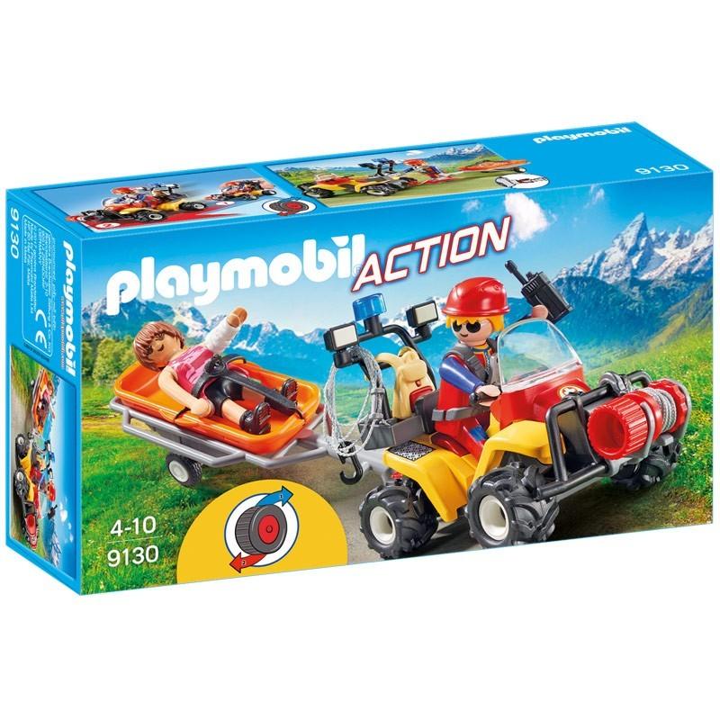 Playmobil 9130. Quad de Rescate de Montaña
