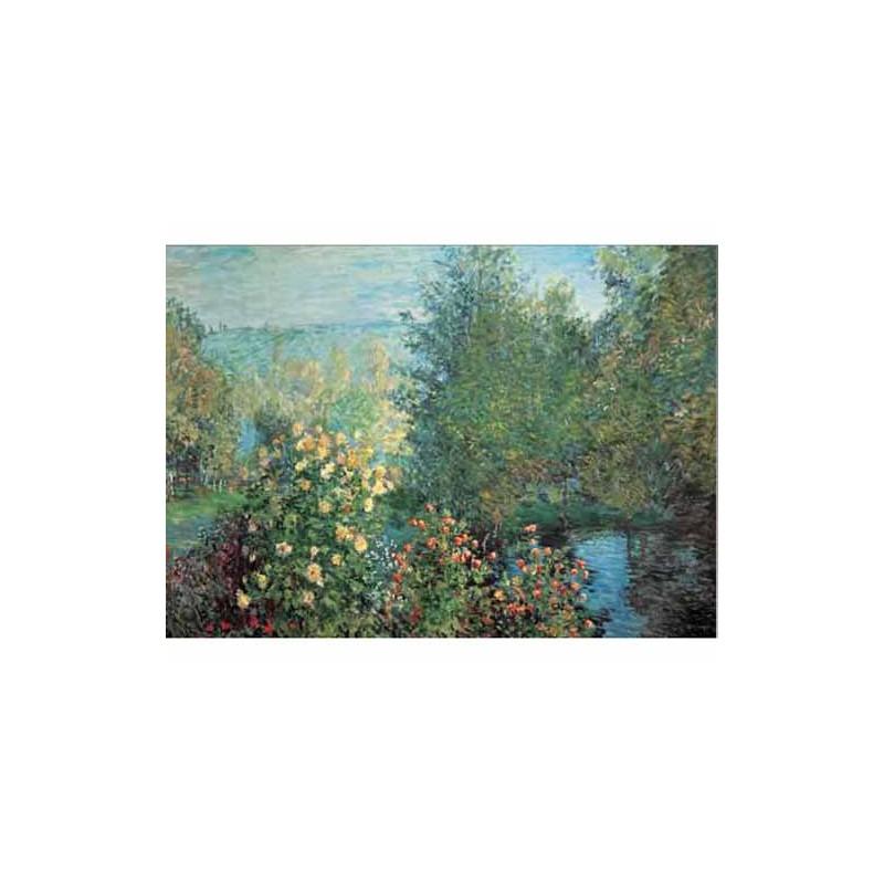 15684. Puzzle Ricordi Arte 2000 piezas Jardín en Montgeron,Monet