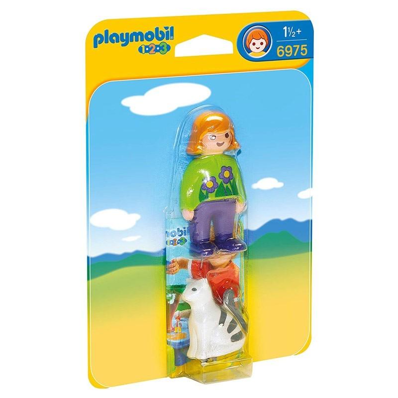 Playmobil 6975. Mujer con Gato