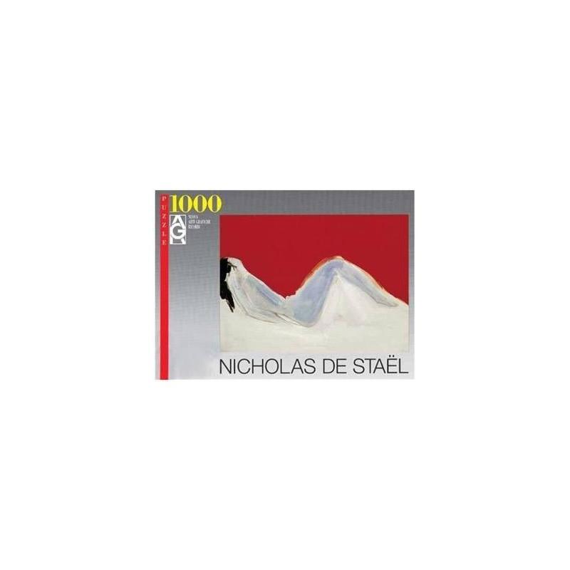 14548. Puzzle Ricordi Arte 1000 pzs Nu Allonge, Nicolas de Staël