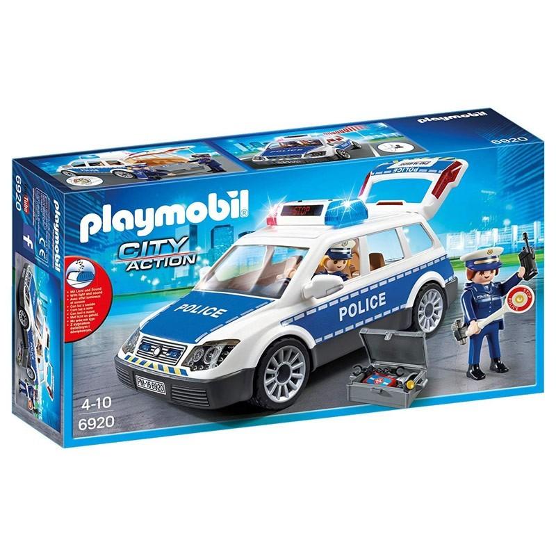 Playmobil 6920. Coche de Policía