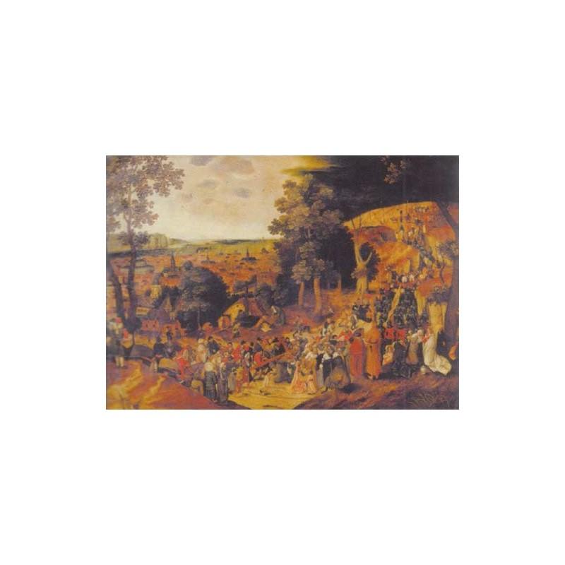 16193. Puzzle Ricordi Arte 1500 piezas The Golgotha, Bruegel
