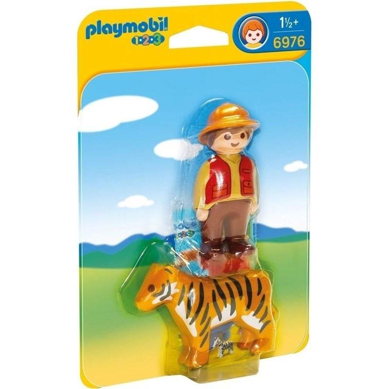 Playmobil 6976. Adiestrador con Tigre