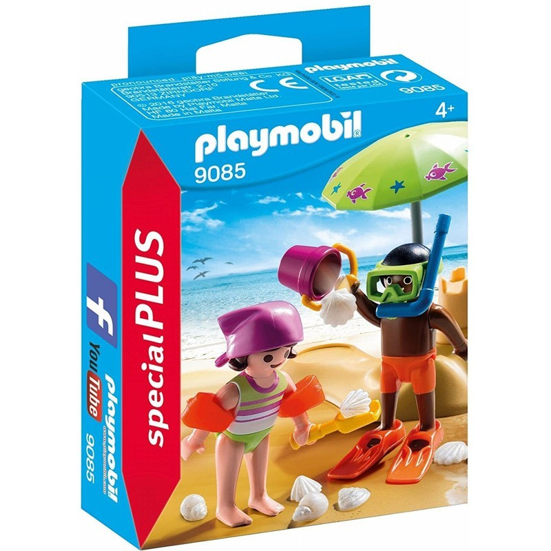 Playmobil 9085. Niños en la Playa