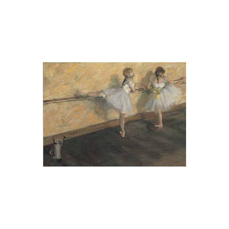 15998. Puzzle Ricordi Arte 1000 piezas Escuela de danza, Degas