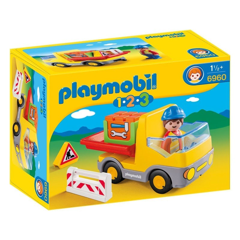 Playmobil 6960. Camión de Construcción