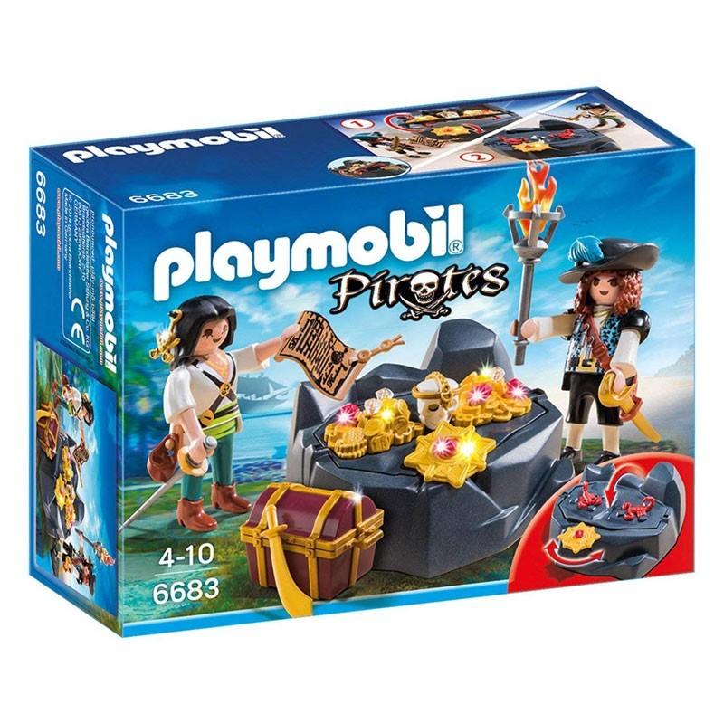 Playmobil 6683. Escondite del Tesoro Pirata