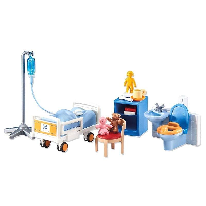 Playmobil 6444. Habitación Hospital de Niños