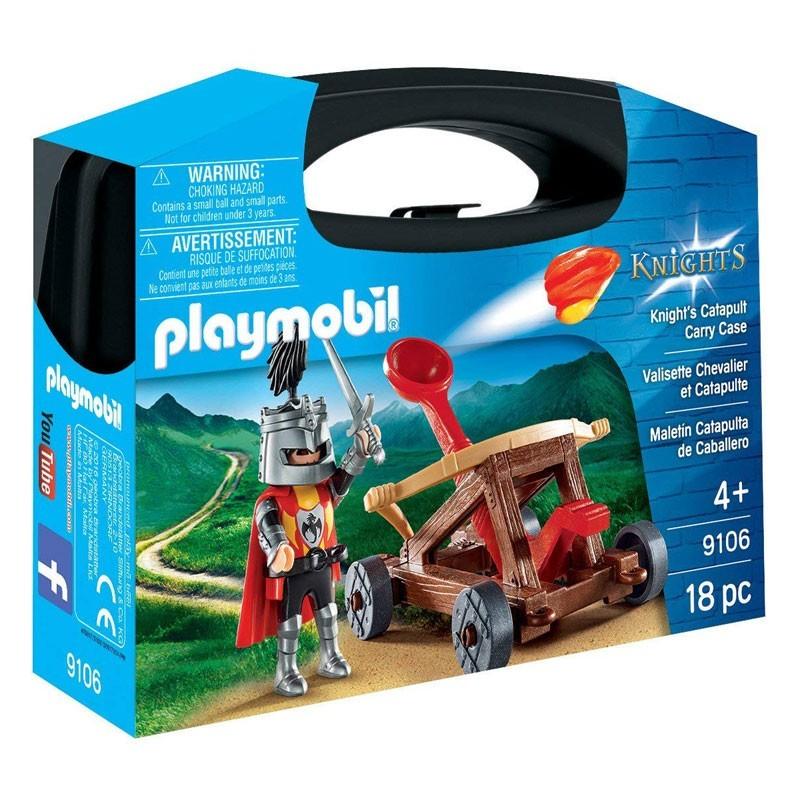 Playmobil 9106. Maletín Caballero con Catapulta