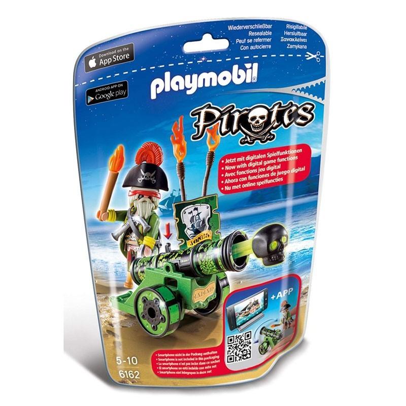 Playmobil 6162. Capitán Pirata con Cañón
