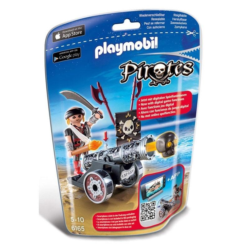 Playmobil 6165. Corsario con Cañón