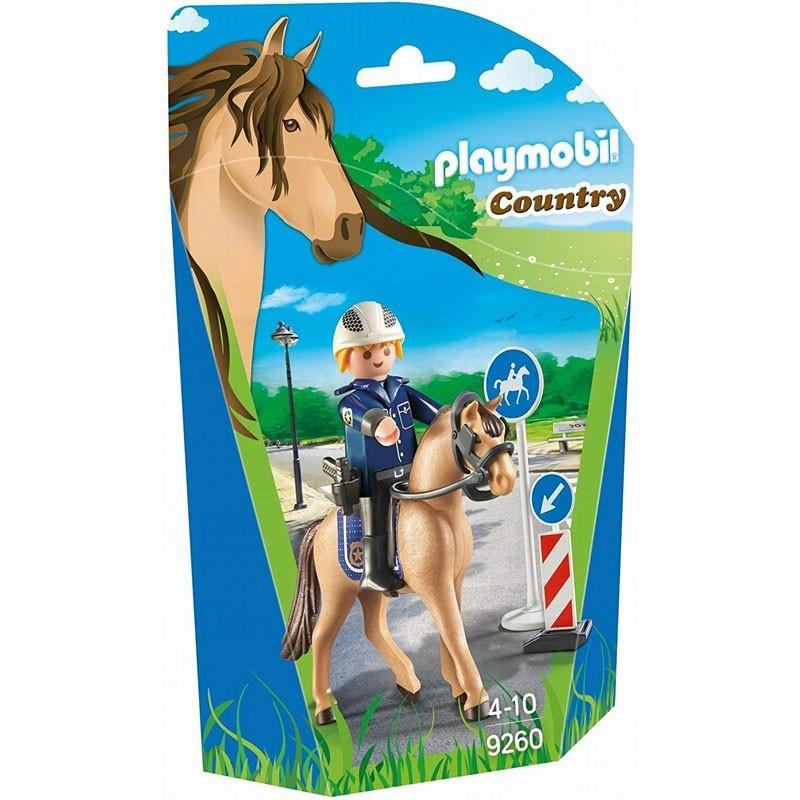 Playmobil 9260. Policía Montada