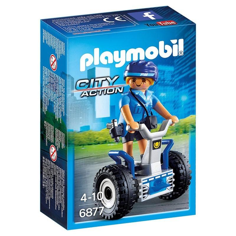 Playmobil 6877. Policía con Balance Racer