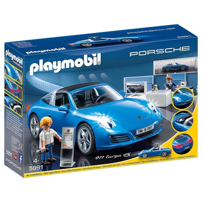 Playmobil 5991. Porsche 911 Targa 4s Azul