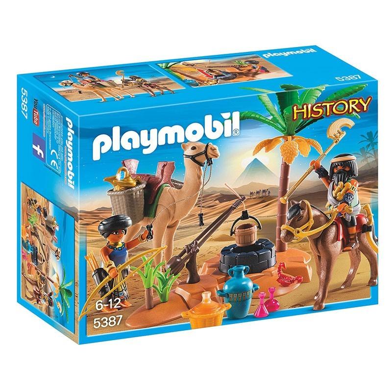 Playmobil 5387. Campamento Egipcio