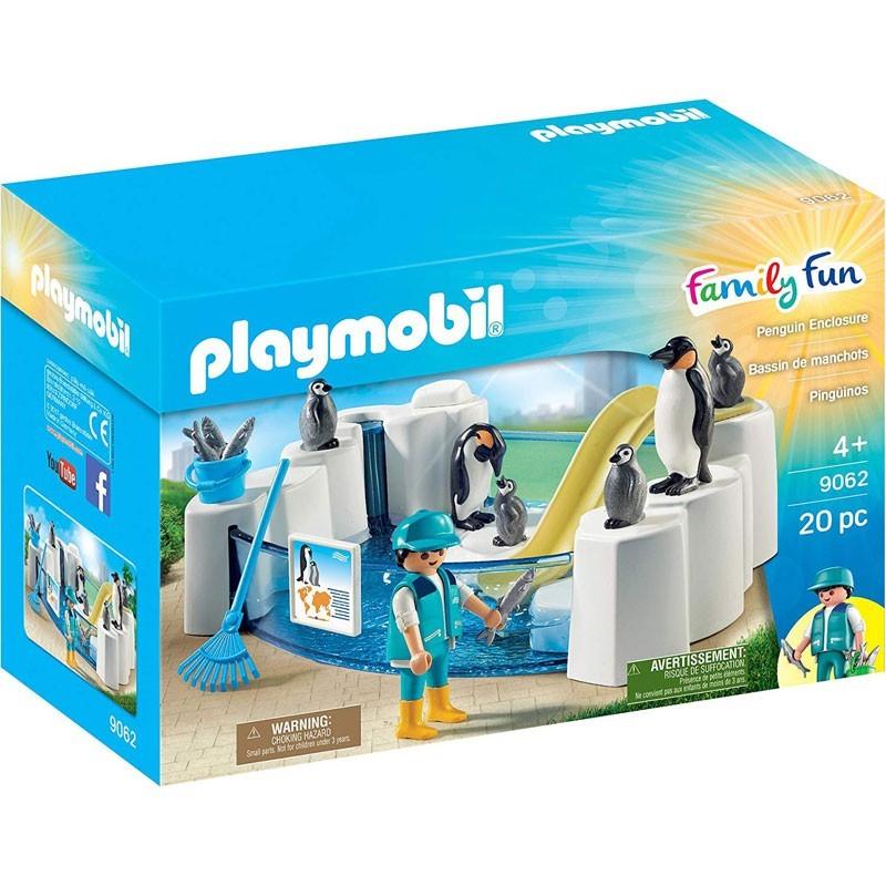 Playmobil 9062. Familia de Pingüinos