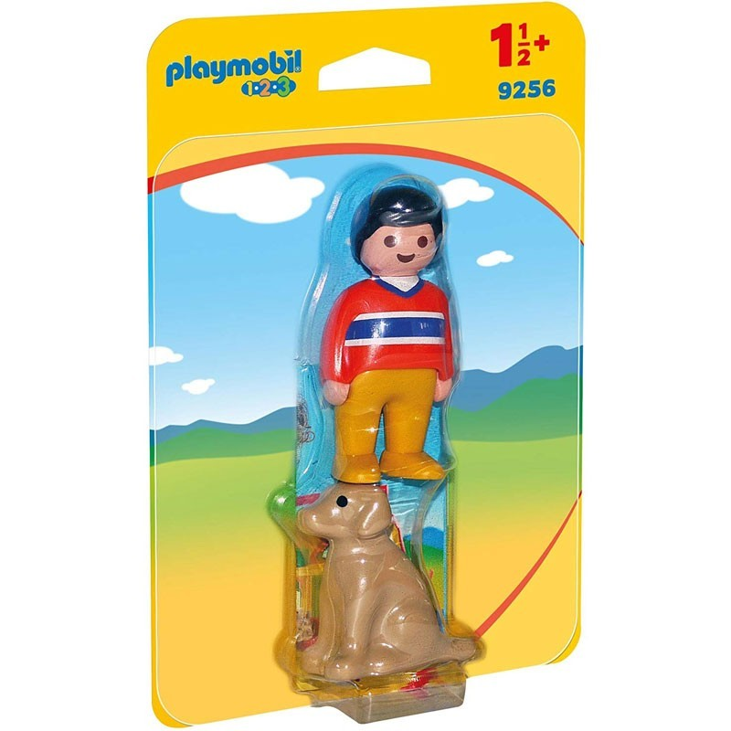 Playmobil 9256. Hombre con Perro