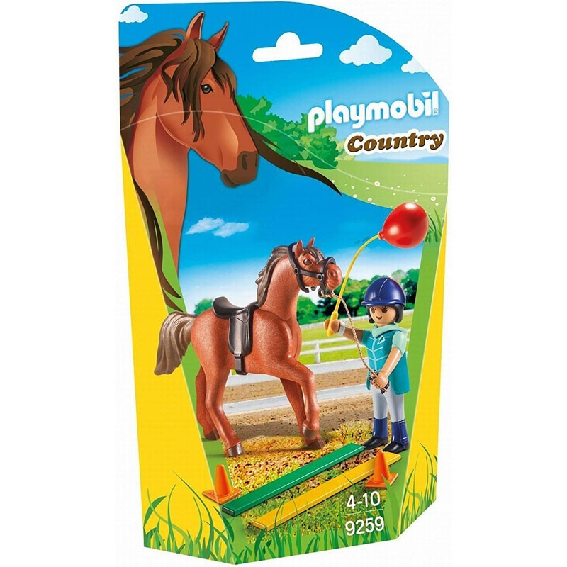 Playmobil 9259. Terapeuta de Caballos