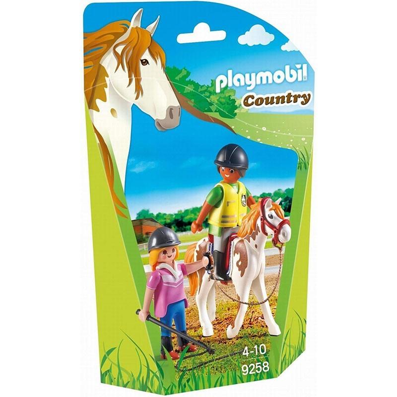 Playmobil 9258. Profesor de Equitación