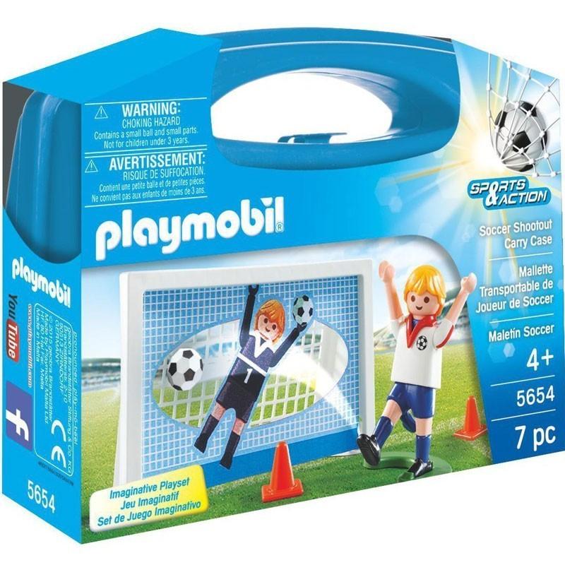 Playmobil 5654. Maletín de Fútbol