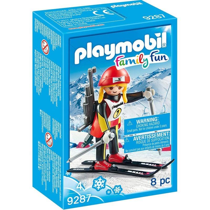 Playmobil 9287. Esquiadora de Biatlón
