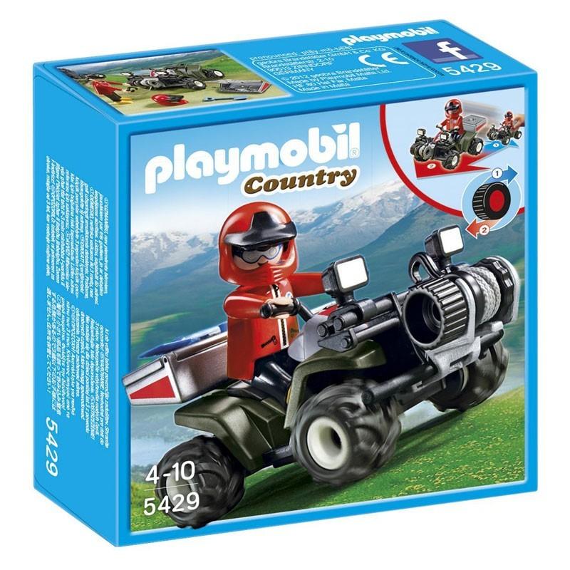 Playmobil 5429. Quad de Rescate