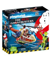 Playmobil 9385. Venkman con Helicóptero