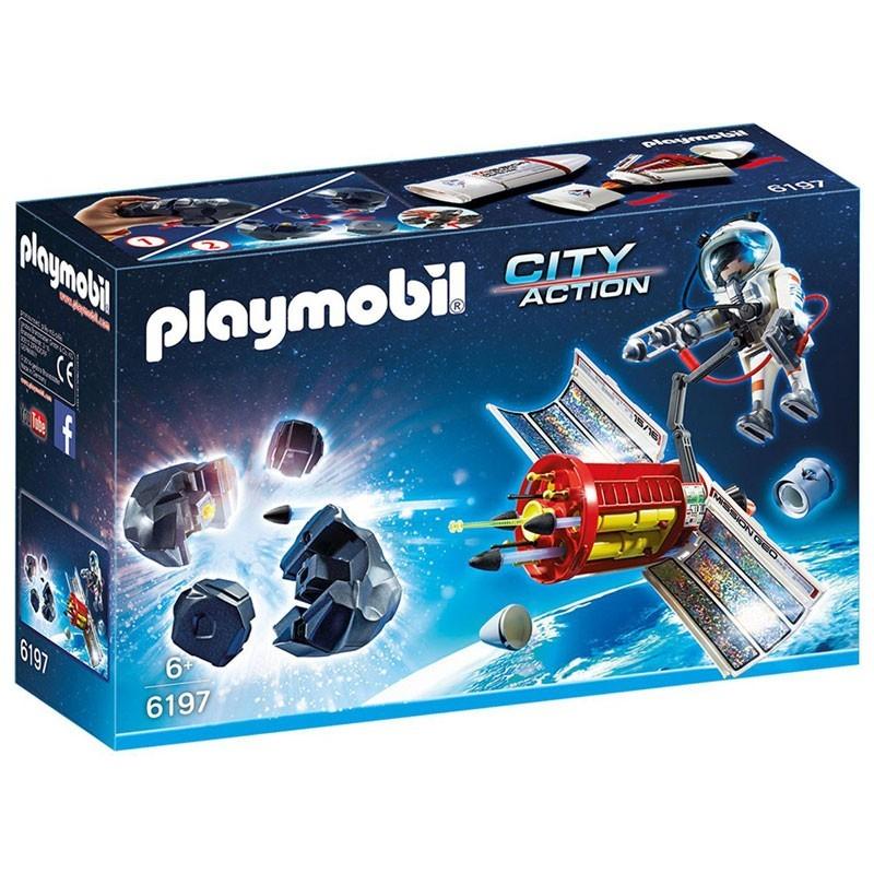 Playmobil 6197. Satélite con Láser