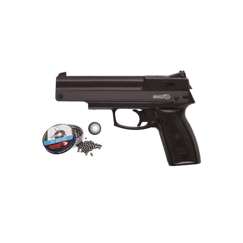 111025 Gamo. Pack Pistola perdigón AF-10 Cal.4,5mm