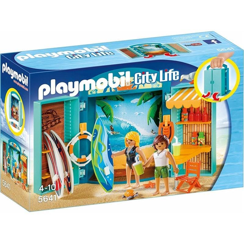 Playmobil 5641. Cofre Tienda de Surf