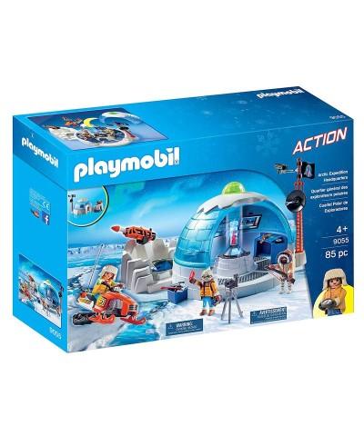 Playmobil 9055. Cuartel Polar de Exploradores