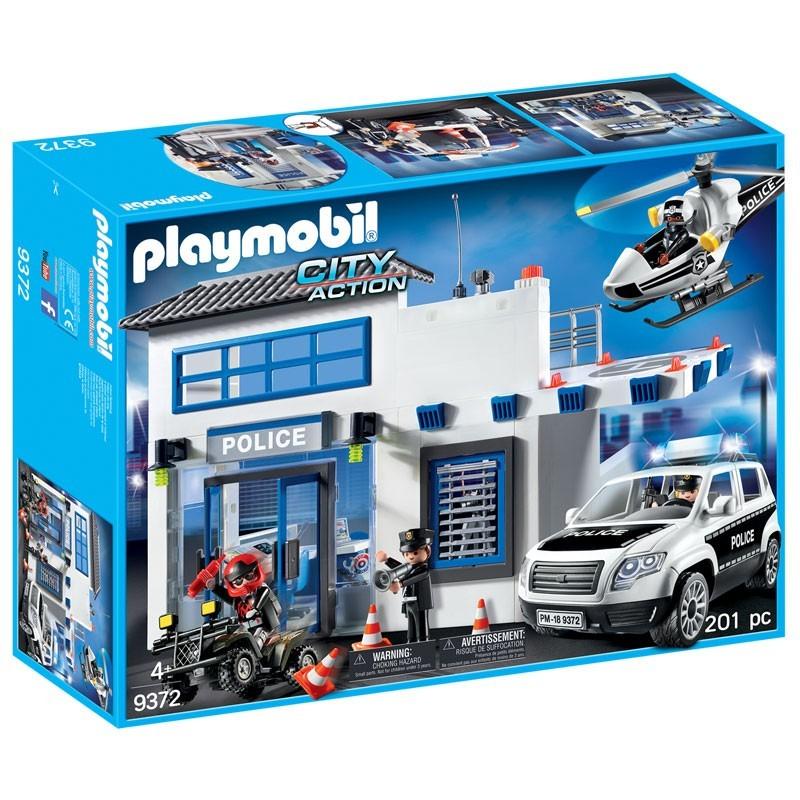 Playmobil 9372. Comisaría de Policía