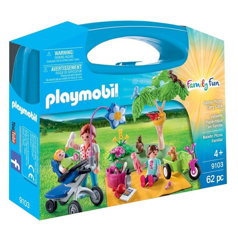 Playmobil 9103. Maletín Gran Pícnic Familiar