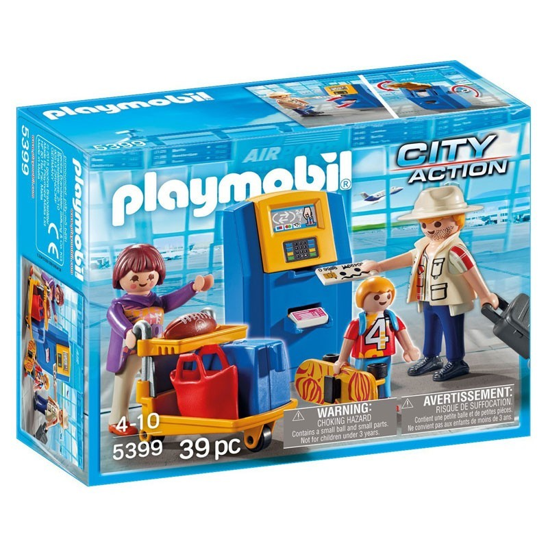 Playmobil 5399. Familia Check In