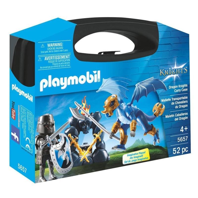 Playmobil 5657. Maletín Grande Caballero y Dragón