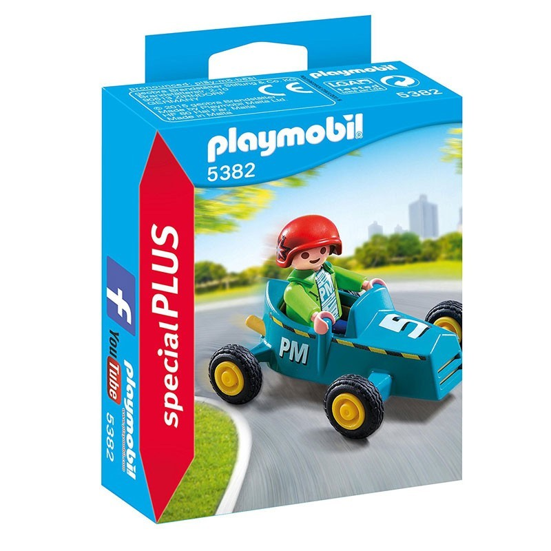 Playmobil 5382. Niño con Kart