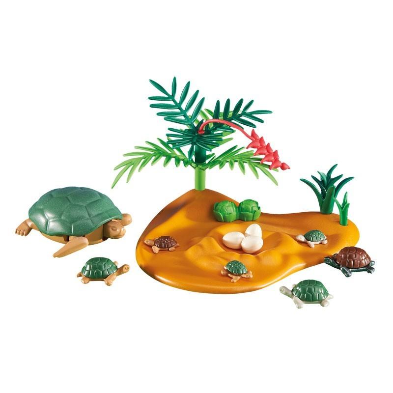 Playmobil 6420. Familia de Tortugas