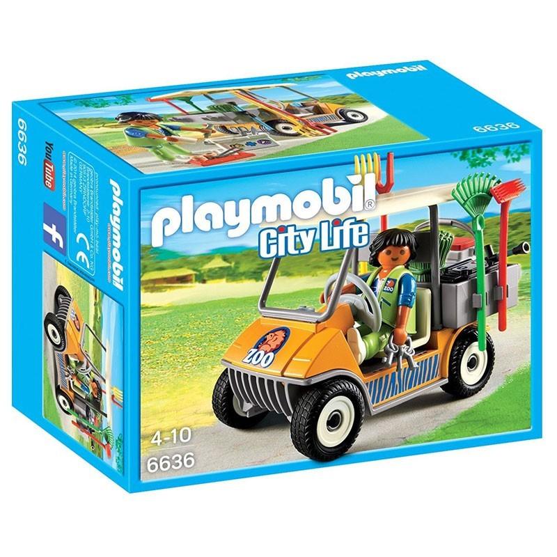 Playmobil 6636. Cuidador del Zoo