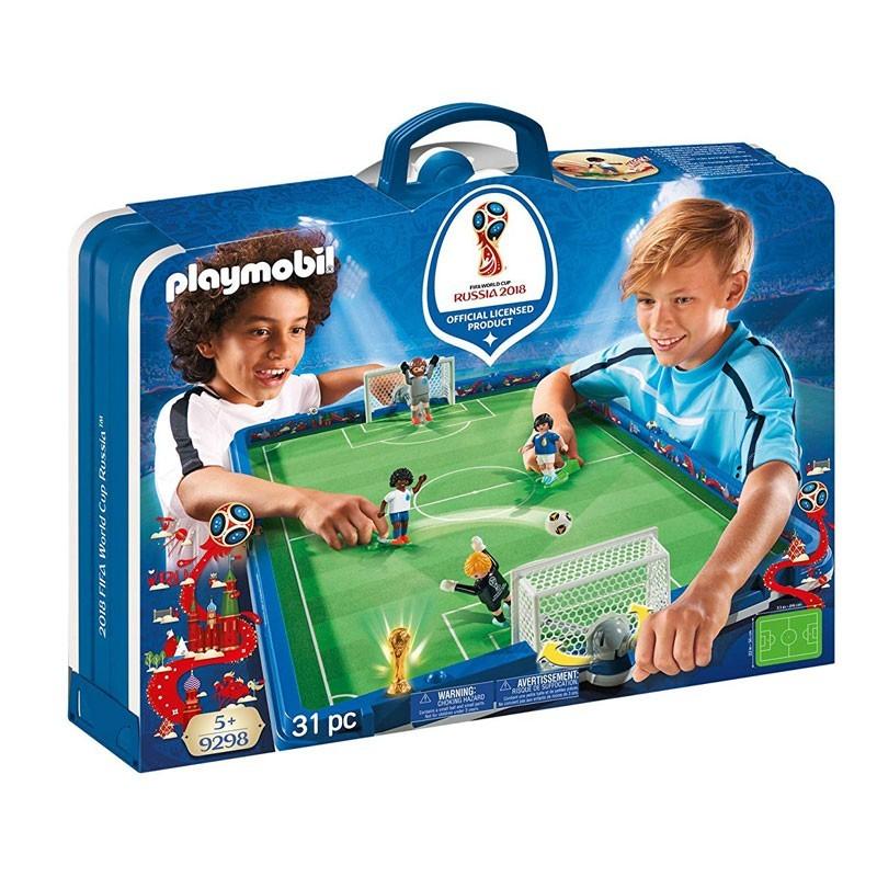 Playmobil 9298. Campo de Fútbol Mundial Rusia 2018