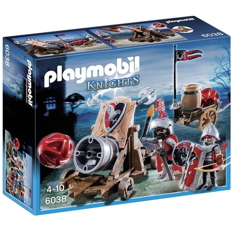 Playmobil 6038. Cañón Caballeros del Halcón