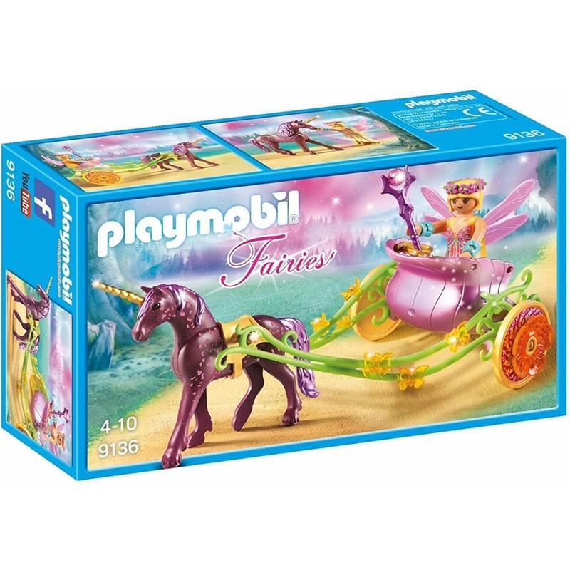 Playmobil 9136. Hada Flor con Carro