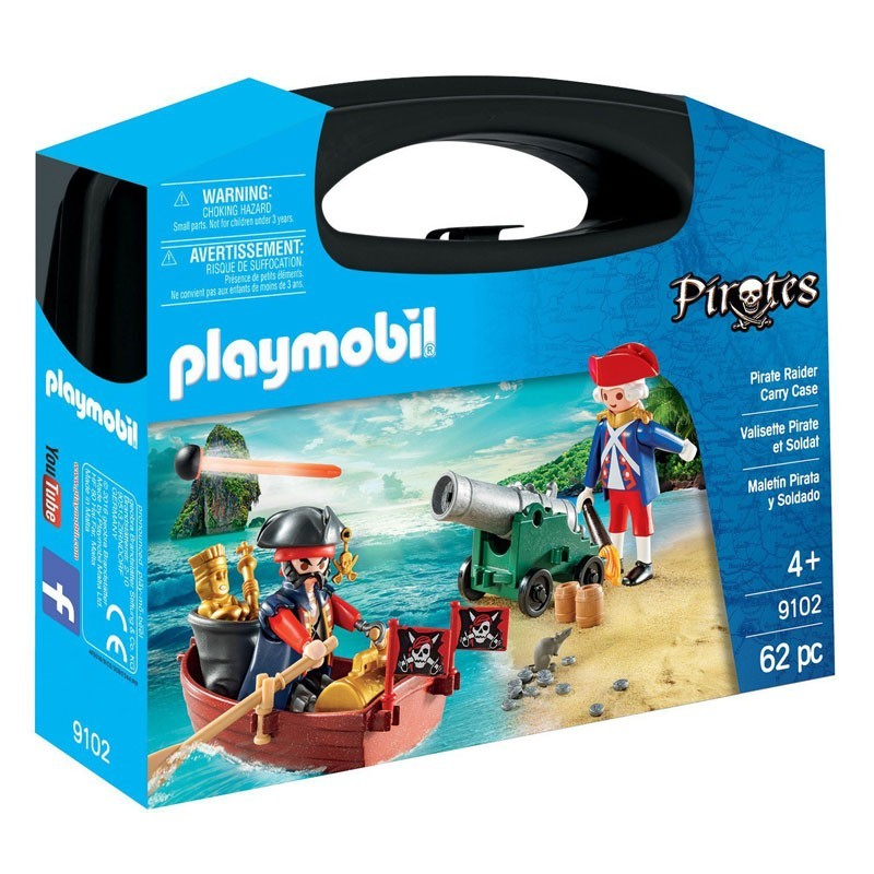 Playmobil 9102. Maletín Grande Pirata y Soldado