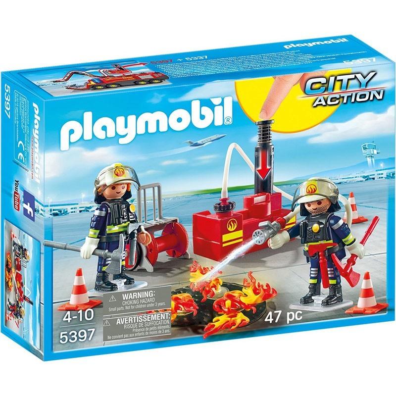 Playmobil 5397. Bomberos del Aeropuerto
