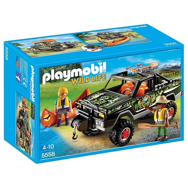 Playmobil 5558. Pick Up de Aventura