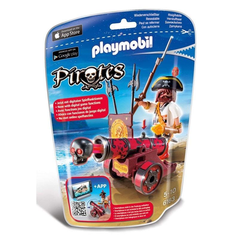 Playmobil 6163. Bucanero con Cañón