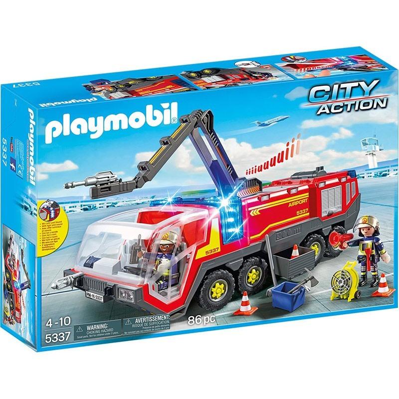 Playmobil 5337. Camión de Bomberos Aeropuerto